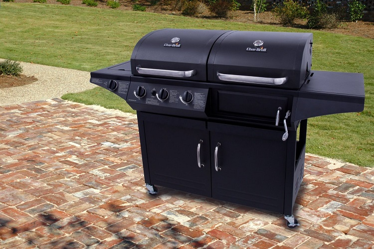 Gas and Charcoal Grill Combo Reviews 2019 | Home and ...